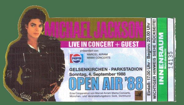 michael jackson gelsenkirchen 1988