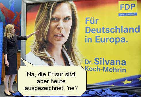 Nackt silvana koch mehrin Silvana Koch