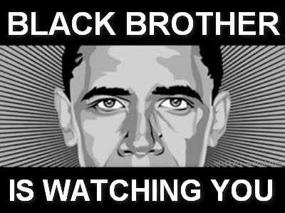 obama black brother is watching you